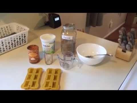 Pumpkin & Yogurt Frozen Dog Treats - YouTube