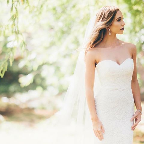 Lovely close up of the Alexis gown, from Wendy Makin's New French Collection!