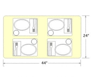 Table Sizing To Keep In Mind I Think Im Going Have Make My Own Dining That Will Seat All 7 Of Us Our Tiny Kitchen