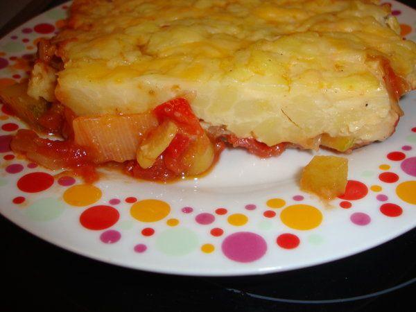 Bucataria cu noroc - Legume cu crusta de cartofi