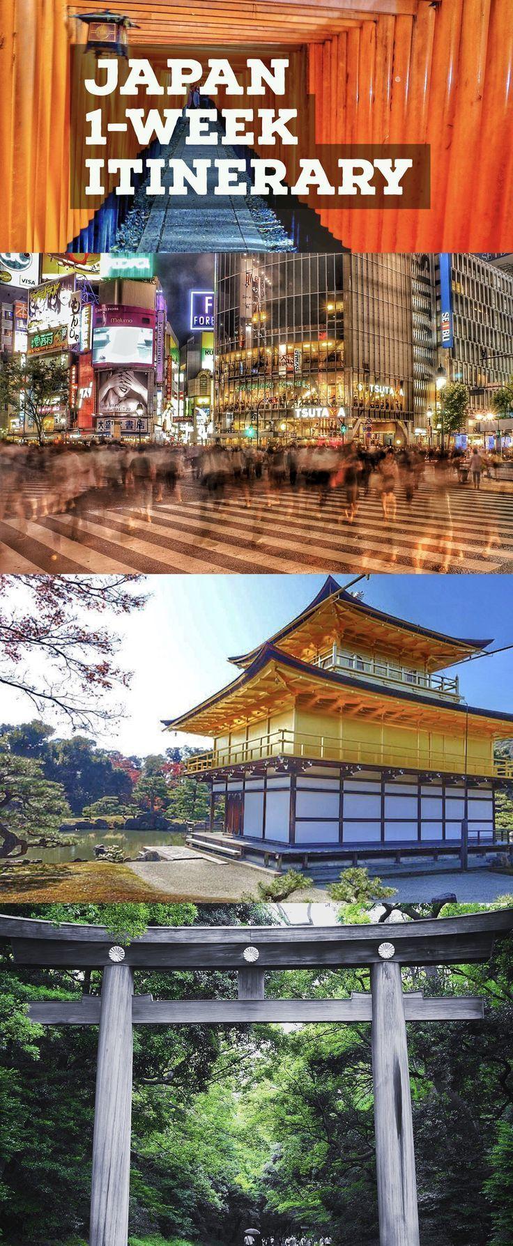 Explore the best of Japan travel guide in 1-week. See Tokyo, Kyoto, Osaka, Hiroshima, Nara, Hakone and more