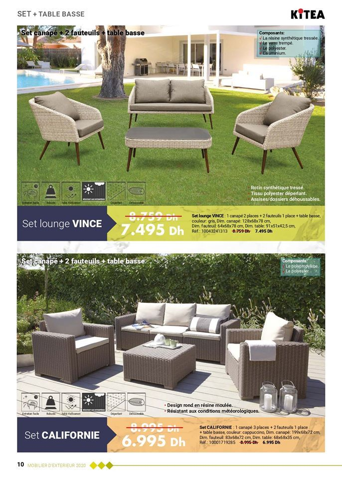 Depliant Kitea Collection Jardin Printemps Ete 2020 Catalogue Maroc Et Promotion Maroc Depliant Maroc En 2020 Jardins Depliant Printemps
