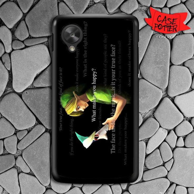 Zelda Majora Mask Quotes Nexus 5 Black Case