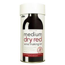 Wilko Medium Dry Red Wine Making Kit              Makes 30 Bottles