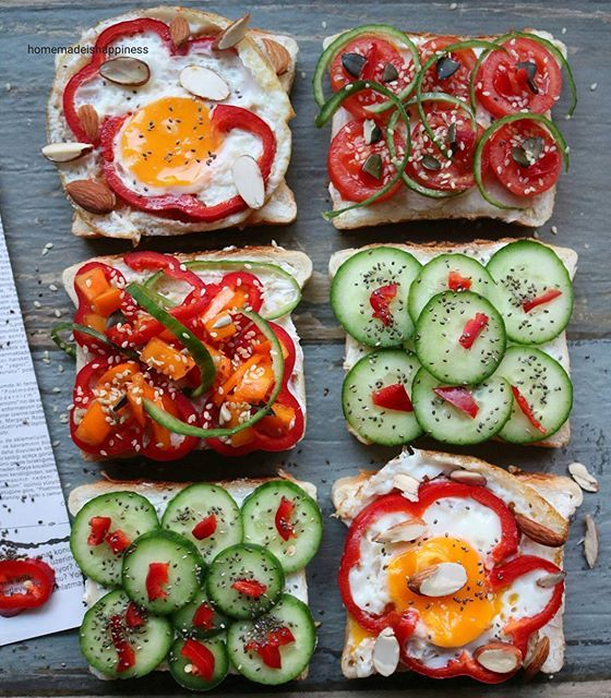 Breakfast toasts... Simple is the best ⭐  Basit ama lezzetli… on @the_feedfeed https://thefeedfeed.com/homemade.is.happiness/3923222