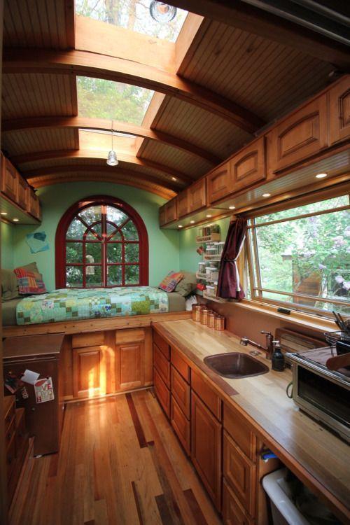 16 Tiny House Interior Design Ideas: Tiny House Design, Motorhome Interior, Tiny House