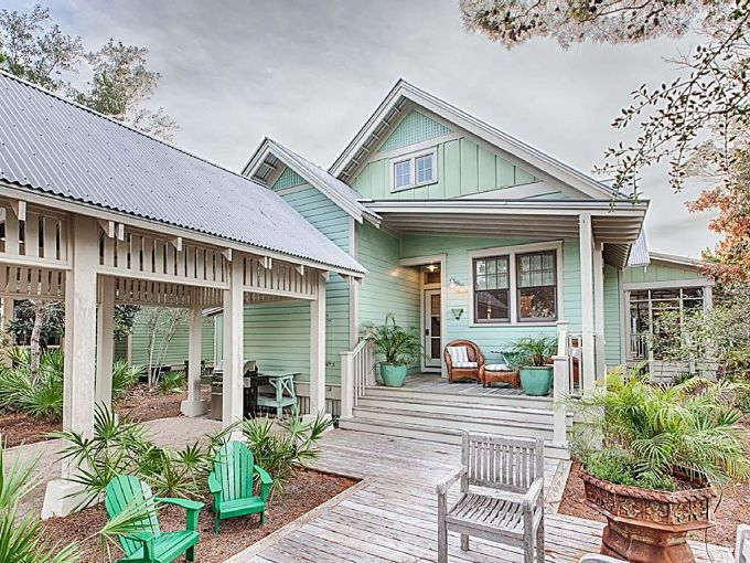 25 best ideas about beach cottages on pinterest beach - Coastal home exterior color schemes ...