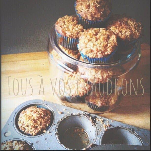 Tous à vos chaudrons: Muffins aux pommes