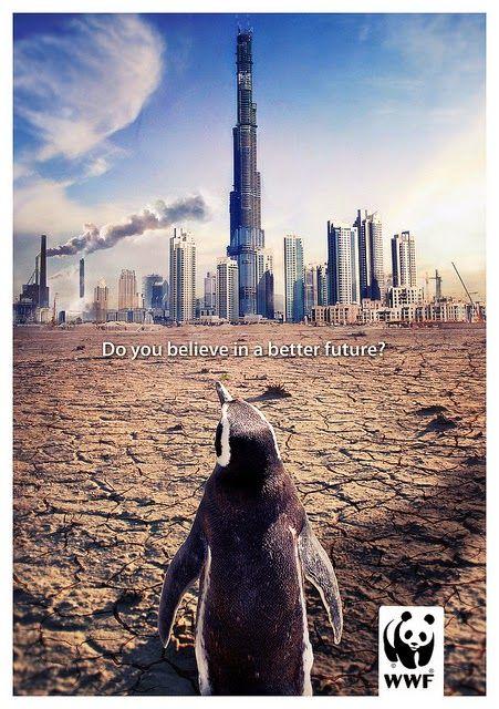inilah gambar poster global warming yang keren, lihat deh ...