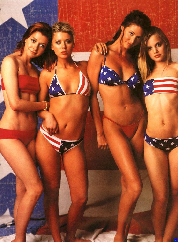 Girls Of American Pie  Beautiful Women  Pinterest  Girls, American Pie And Mena Suvari-5048
