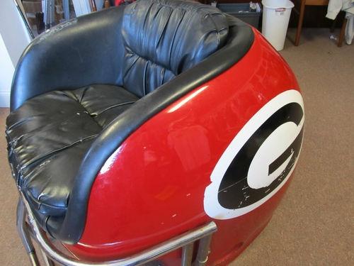 Fiberglass Georgia Bulldog Helmet Chair | eBay