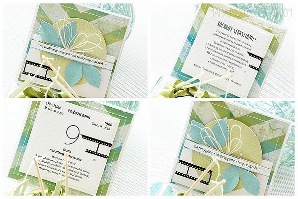 Exploading box by Mamajudo / Carpe diem paper collection by P13