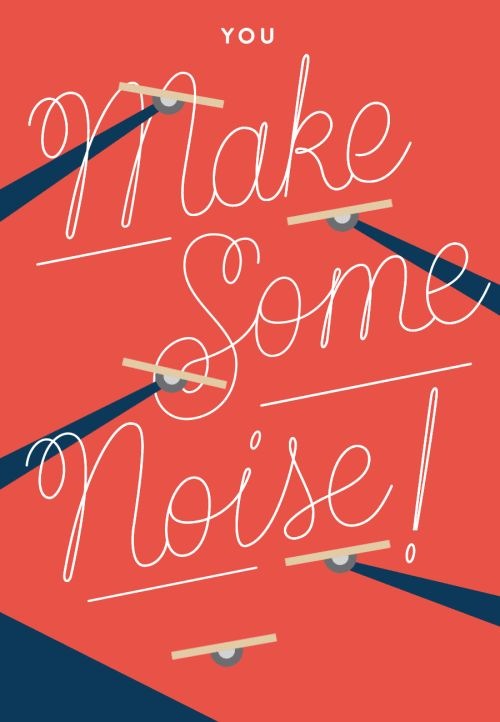 You Make Some Noise!  #GIFs