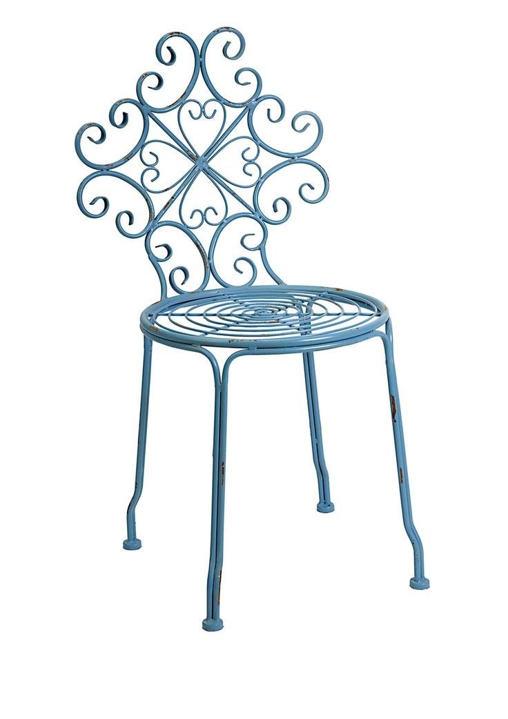 IMAX  Corrina Iron Side Chair
