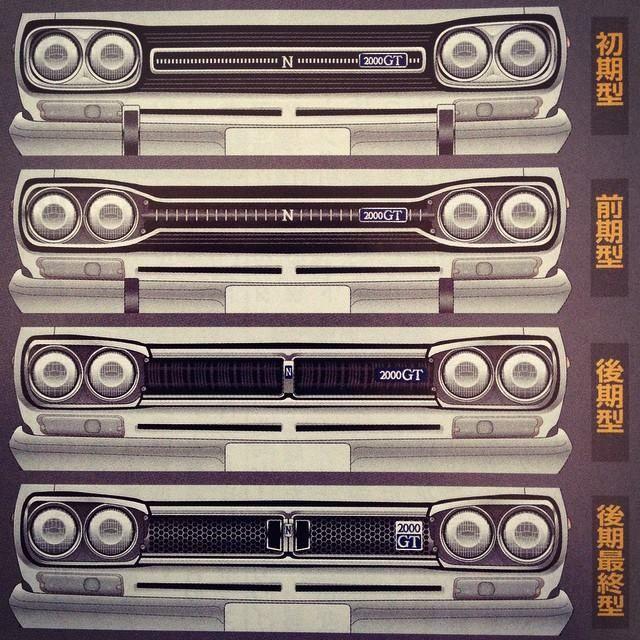 68 ~ 72 Hakosuka Top to bottom