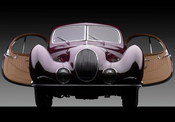 1938 Talbot-Lago T-150SS at the Mullin Automotive Museum