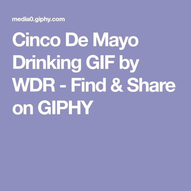Cinco De Mayo Drinking GIF by WDR - Find & Share on GIPHY
