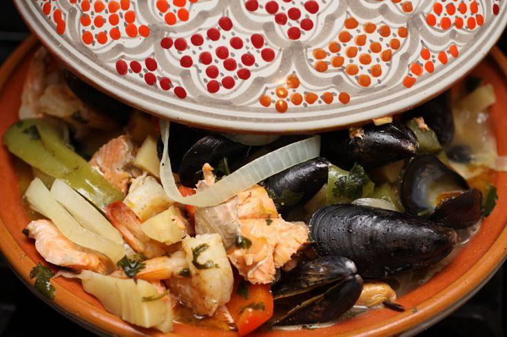 Fruites de Mer - Tagine Cooking