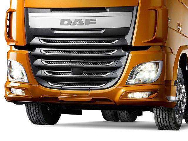 DAF XF Euro 6 Exterior bumper