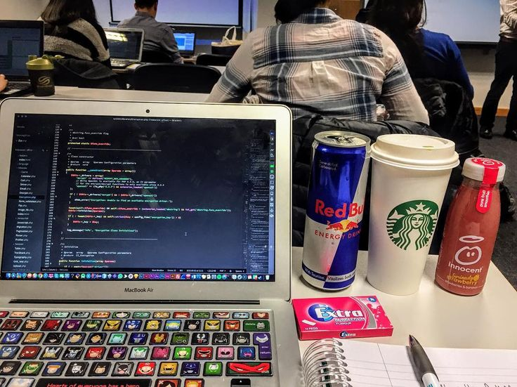 Coding and hydrating         #webdesign #hydrate #college #createcommnue #seetheworld #wanderlust #visual_awareness #coding #code #programming #nerd #geek #php #html #html5 #css #java #javascript #ruby #redbull #starbucks #innocent #liquid #juice #energydrink #morningcode