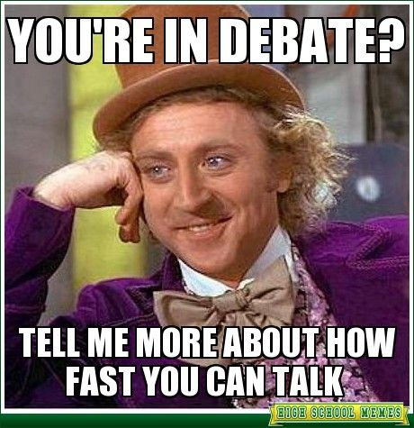 high school debate memes - Google Search