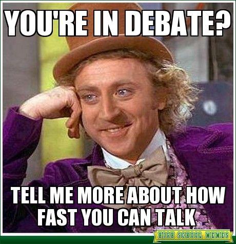 high school debate memes - Google Search