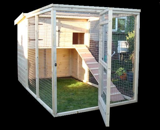 Ooo if I had a garden too I'd build one of these for my bunnies to go out in summer during the day