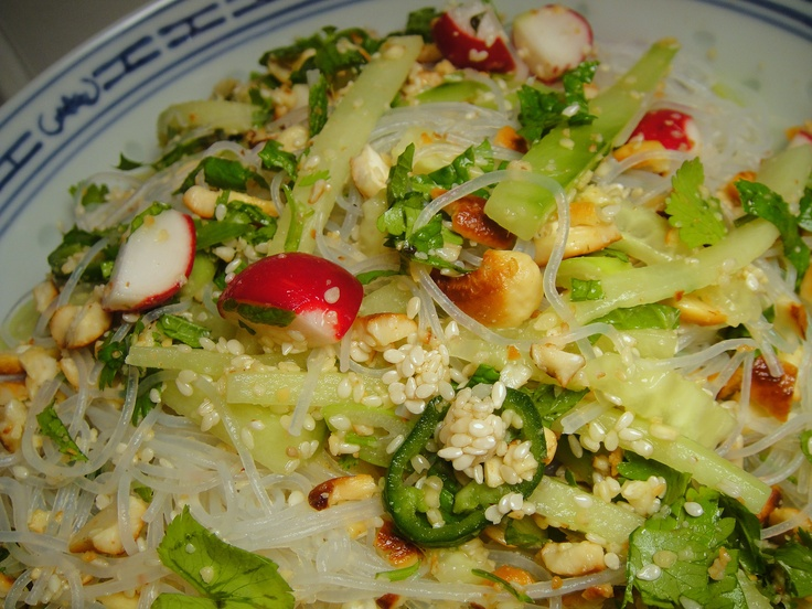 Cook the Book: Scallion, Radish, and Cucumber Salad with Cashews and ...