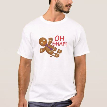 Gingerbread Man T-Shirt - tap to personalize and get yours