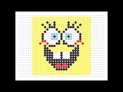 Mejores 20 imágenes de Pixels - Spongebob en Pinterest | Patrones de ...
