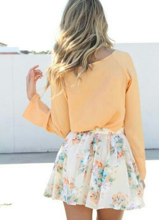 That flower skirt
