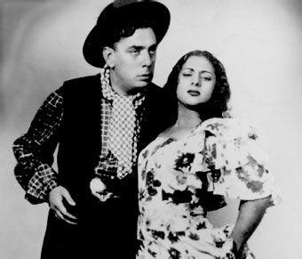 Lola Flores y Manolo Caracol