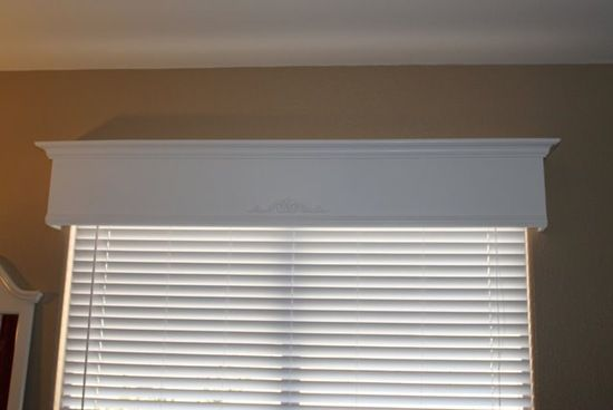 Tutorial: How to make a wood valance window treatment I Heart Nap Time   I Heart Nap Time - Easy recipes, DIY crafts, Homemaking