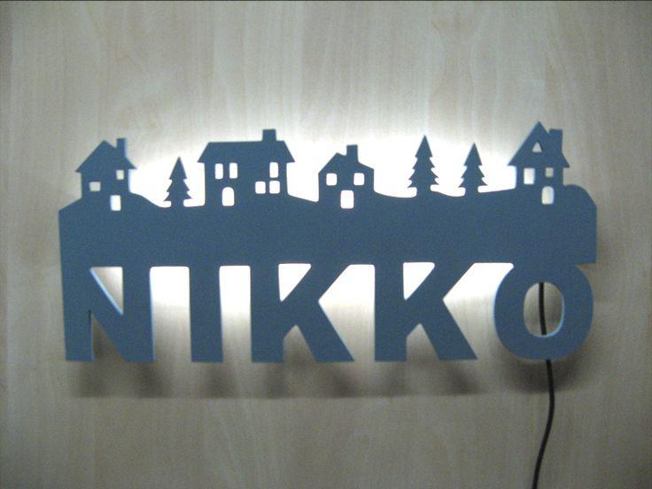 Lámpara Bosc, luz de pared para niños