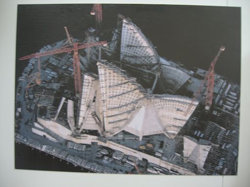 Sydney Opera House construction