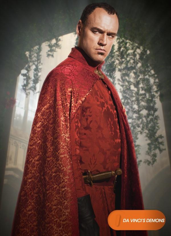 Elliot Cowan é Lorenzo Medici. Da Vinci's Demons - Nova série, 16 de abril, 22h30 #DaVinciNaFOX http://www.canalfox.com.br/davincisdemons