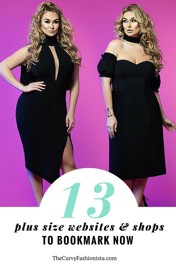 13 MORE Online Plus Size Shops You Need To Bookmark Now! http://thecurvyfashionista.com/2016/06/13-online-plus-size-shops/