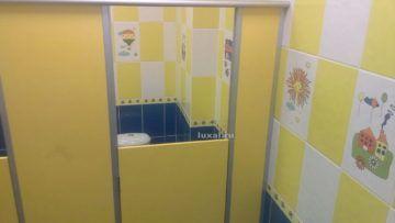 детские туалетные кабинки ДСП