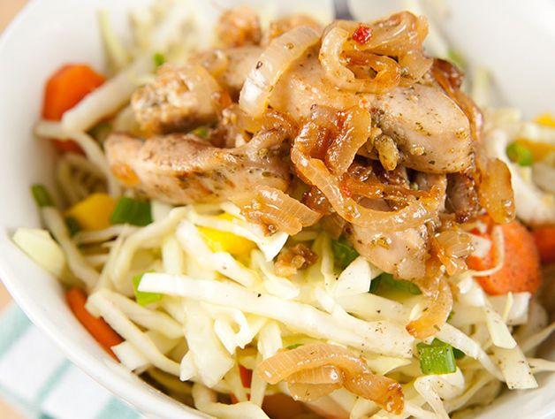 Asian Chicken Salad with Honey Sesame Dressing Recipe | Ninja®
