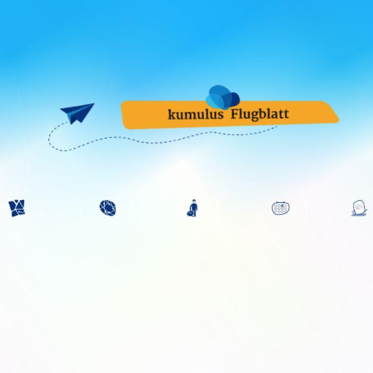 #kumulus #Flugblatt: 1x im Monat #SocialMedia #Strategie #Kommunikation