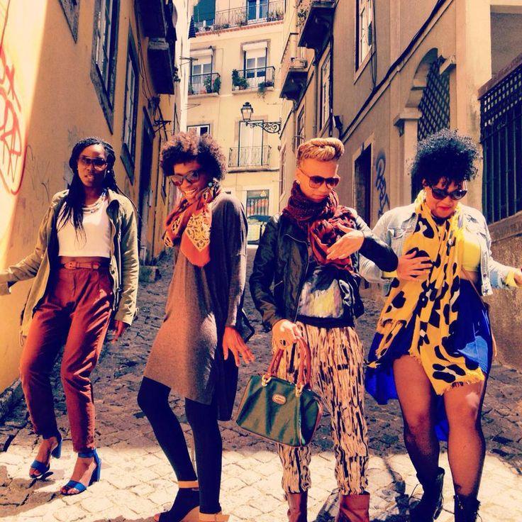 naturalblkgirlsrock: Black Girls take on Portugal
