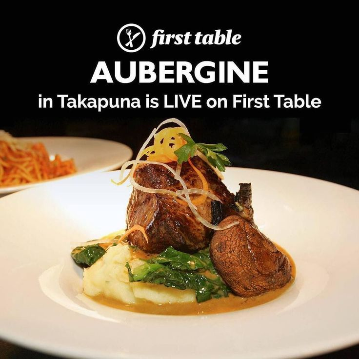 Kiwi favourites alongside the best from Europe and the Mediterranean . . Book the #firsttable for #Aubergine in #Takapuna #Auckland and you'll get 50% off the food bill for 2 to 4 diners . . . Think scotch fillet with roasted carrots and whipped potato fresh fish of the day seafood pasta and vegetarian mezze Lebanese. The must-try signature dish is duck à lorange - crispy duck breast served with roast golden kumara sautéed vegetables and orange honey jus.  Few can resist Aubergines fantastic…