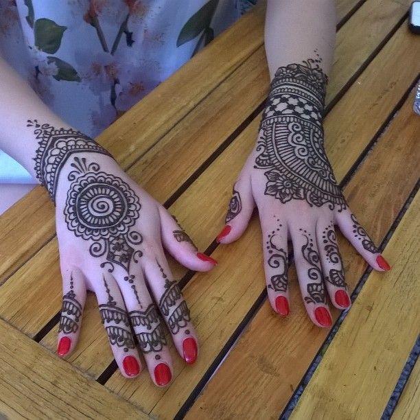 Out for #icetea #henna #hennatattoo #hennajourney #hennaart