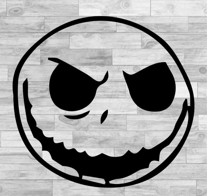 Jack Skellington Svg Jack Skellington Face Svg Nightmare Before Christmas Svg Png Jpeg Dxf Cricut Silhouette Vinyl Cutter File By Susushop 1 99 Usd