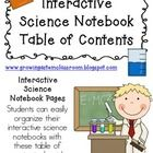 We create interactive science notebooks every year and they are definitely a work in progress!  These are one of the first entries in our science notebooks! $