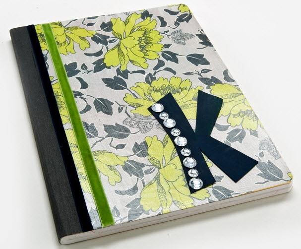 Plaid® Mod Podge® Revamped Composition Notebook #papercrafting #craft #modpodge