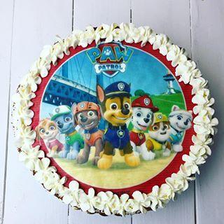 Torcik urodzinowy - psi patrol  #tort #cake #birthdaycake #birthday #urodziny #psipatrol #handmade #diy #mgotuje #food #party #dladzieci #children #omnomnom