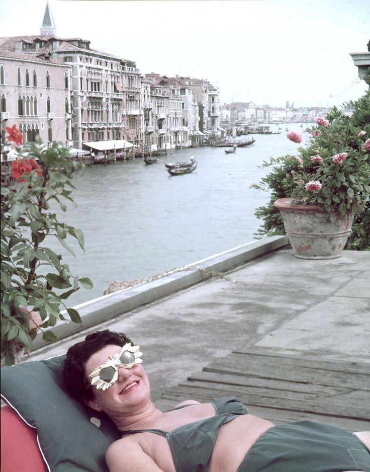Peggy Guggenheim, 1953
