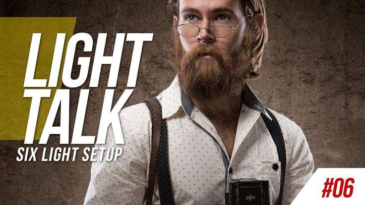 Light Talk #06 - Six Light Setup - More on http://www.retutpro.com
