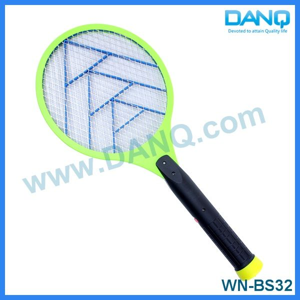 Three layers insect swatter, bug zapper, mosquito swatter, mosquito racket with CE-EMC